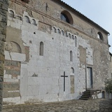 Castle of Ghivizzano, church