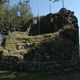 Castle of Palleroso, remains