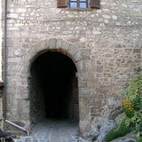 Castle of Corfino, entrance