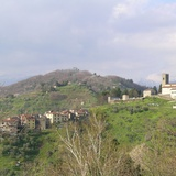 Castle of Corsagna, view